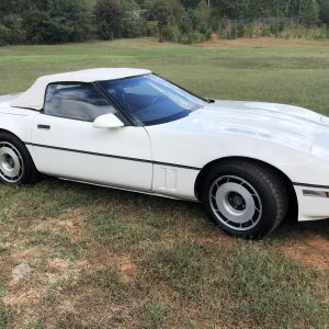 1987 Chevy Corvette Convertible