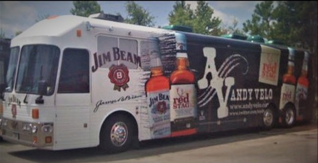 Wrap Jim Beam
